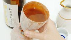 いかの干物にアツアツの酒を入れて飲んだ後に食べてしまう「イカグラス」 - GIGAZINE