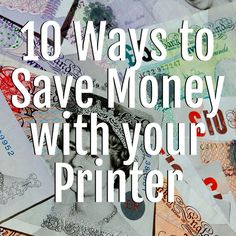 Home printers are designed to be economical to run at home and with a few handy tips, you can make sure it is.