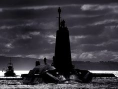 HMS Vengeance, a Strategic Missile Submarine (SSBN) of the Vanguard Class, is shown in this atmospheric image, returning to HM Naval Base Clyde (HMNB) after a busy period of Operational Sea Training.