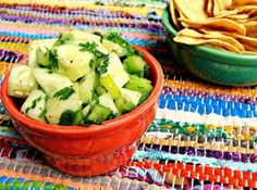 Raw Cucumber Salsa