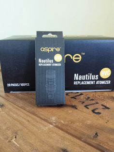 Aspire Nautilus BVC atomizer now available at Trinity Vapor Lounge, Raleigh, NC.
