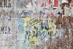 grunge ripped poster background - texture of torn advertisement on an old rusty billboard panel Stock Photo , Grunge, Art Background, Textured Background, Poster On, Poster Wall, Graffiti Wall, Blog Deco, Banner Printing, Image Photography