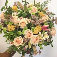 A beautiful bouquet made by one of our local florists. Do you love it?  #flowers #florists #instagood #instalike #instabeauty #flowershop #flowerslovers #southafrica #love #beauty #blooming #bloom