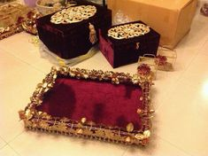 Wedding gift boxes...