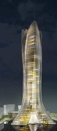 Michael Schumacher World Champion Tower in Dubai by LAVA