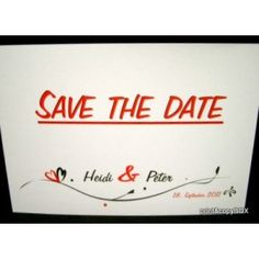 """Save the Date """"In Love"""" rot Save The Date, Dating, Love, Paper Mill, Card Wedding, Invitations, Amor, Quotes, Wedding Invitation"""