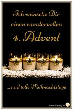 Wish your friends and family a nice fourth Advent. - Wish your friends and family a nice fourth Advent. What Is Credit Score, Christmas Time, Merry Christmas, Types Of Credit Cards, Candle Jars, Candles, Winter Quotes, Diy Crafts To Do, Thing 1