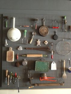 Pegboard Display