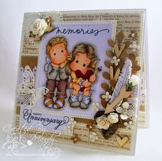 Created by Mandy for the Simon Says Stamp Wednesday challenge (Anything Goes) July 2014