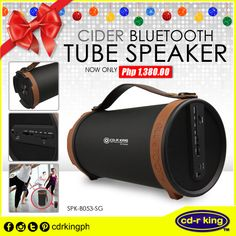 Bring your sounds with Cider Tube Get your's now at your local branch. Perfect Christmas presents to all your friends and loved ones! You Sound, Christmas Presents, First Love, You Got This, Bluetooth, Tube, Friends, Holiday Gifts, Blue Tooth