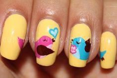 Love birds... awwwww !