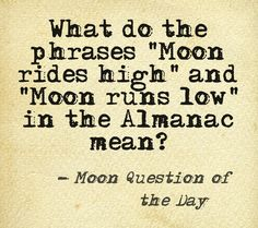 Moon Question of the Day