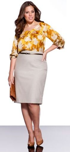 Poised, Polished, Professional and Plus Size: Plus Size Wear to Work Tips