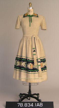 1938 Louella Ballerino dress.