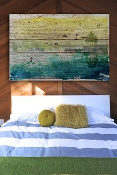 Peace of Mind American Reclaimed Wood Wall Art