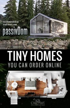 High-Tech Modern Tiny Houses Most of Us Can Afford - Craft-Mart Amazing autonomous off-the-grid self-sustainable smart house. Solar powered, mobile, comfortable luxury unit with everything included. Small Cabin Plans, A Frame House Plans, A Frame Cabin, Small House Plans, House Floor Plans, Tyni House, Tiny House Cabin, Tiny House Living, Modern Tiny House