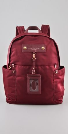 Marc by Marc Jacobs    Preppy Nylon Backpack  Style #:MARCJ40682  $228.00