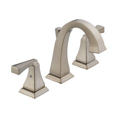 Master Bath Lavatory Faucet Delta in Stainless Upgrade Package