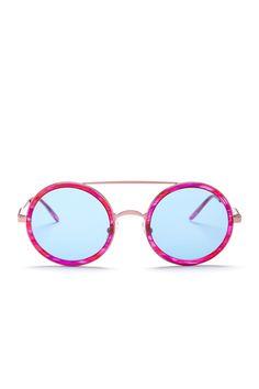 Amazing Pink WILDFOX Round Sunnies