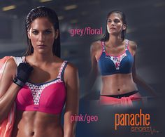 sportovní podprsenka- model s kosticí i bez v novém barevném provedení, laděném do růžové.