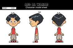 Abd Al Wahab model sheet by ~X-Factorism on deviantART blueprint model sheet