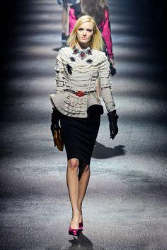 Lanvin at Paris Fall 2012