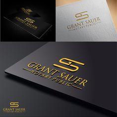 BC Notary Requires Logo by Aliando Design