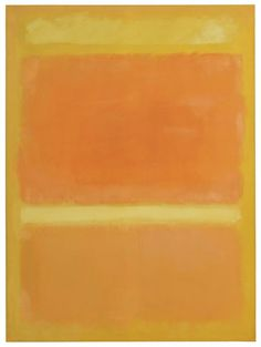 Mark Rothko, (YELLOW, ORANGE, YELLOW, LIGHT ORANGE), 1955