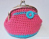 coin purse crochet,