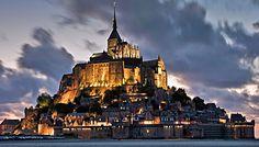 Mont Saint-Michel, France -