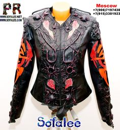 """Cool leather jacket for women """"Orion"""" Size S-M Price $1551  https://sites.google.com/a/sofalee.net/exclusive-leather-jackets/jackets-toda..."""