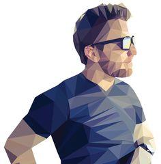 Custom Geometric Portrait (Low Poly) by MLightDesign on Etsy https://www.etsy.com/listing/258617523/custom-geometric-portrait-low-poly