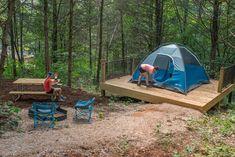 Timbuktu Campground | Echo Bluff State Park
