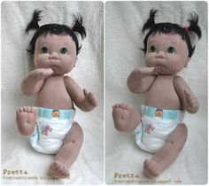 Fretta: Life size Soft Sculptured soft jointed Baby Doll