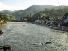 The Saryu River , Snapped from Bageshwar Ghat