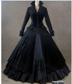 Marca de gama alta Elegante mujeres Vintage Gótico Victoriano Vestido lolita cosplay por encargo