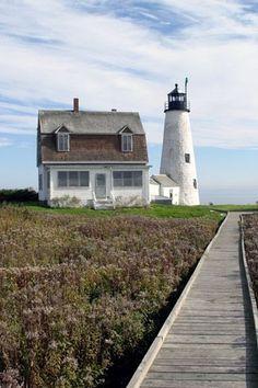 Wood Island Lighthouse, ME by nadine