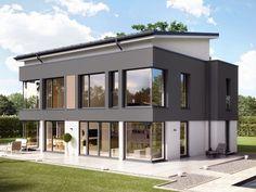 "Plusenergie-Villa ""Concept-M Wuppertal"" von Bien-Zenker | Haus & Bau | zuhause3.de"