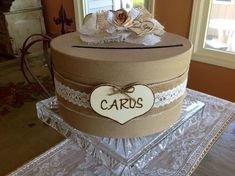 hat box card holder - Google Search