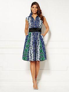 Eva Mendes Collection - Britta Shirtdress - New York & Company