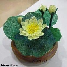 . ¡ LOTO, hermosa y delicada flor ¡  en Biserok hay esquemas free