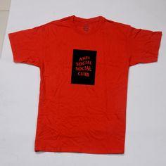 T-shirt red A.S.S.C. – Hyipmoda