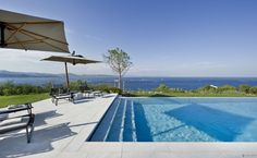 Péninsule - St. Tropez  Magic & incredible....    This hill-top villa located in the exclusivity of the private Estate of Les Parcs de St. Tropez boasts uninterrupted views of sea, the South Alps and the sky