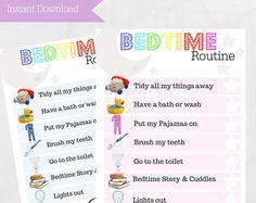 Children's Bedtime Routine