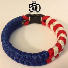 paracord+knotted+bracelet | paracord bracelets