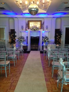 My ceremony setup at the Catalina Club in Margate, Florida Margate Florida, Wedding Ceremony, Club, Table Decorations, Furniture, Beautiful, Home Decor, Homemade Home Decor, Home Furnishings