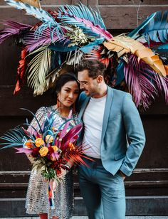 This Elopement inspiration in Italy combined tropical florals, a sequin wedding dress, eclectic details and a fushion of cuisines for the perfect day! Elope Wedding, Wedding Blog, Dream Wedding, Wedding Dresses, Green Wedding Shoes, Wedding Colors, Eclectic Wedding, Sequin Wedding, Elopement Inspiration