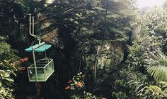 Aerial Tram of the Gamboa Resort in Panama