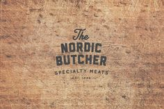 The Nordic Butcher by Stefan Weidauer, via Behance