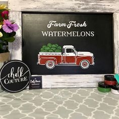 SLOW YOUR SCROLL and show me some watermelon 🍉 🍉  love in the comments and head over to my Crafty Mamas Clubhouse to learn how to make this all by yourself!  Don't be fooled by the name...the clubhouse is about more than just craftin